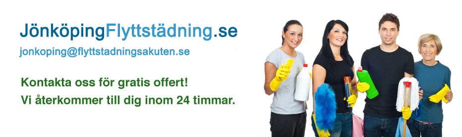 billig flyttstädning i Jönköping